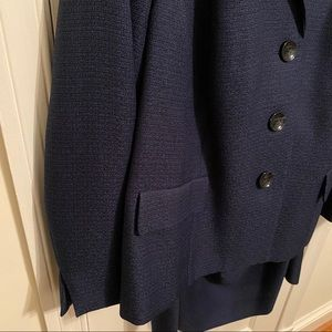 Dark Blue Suit Set